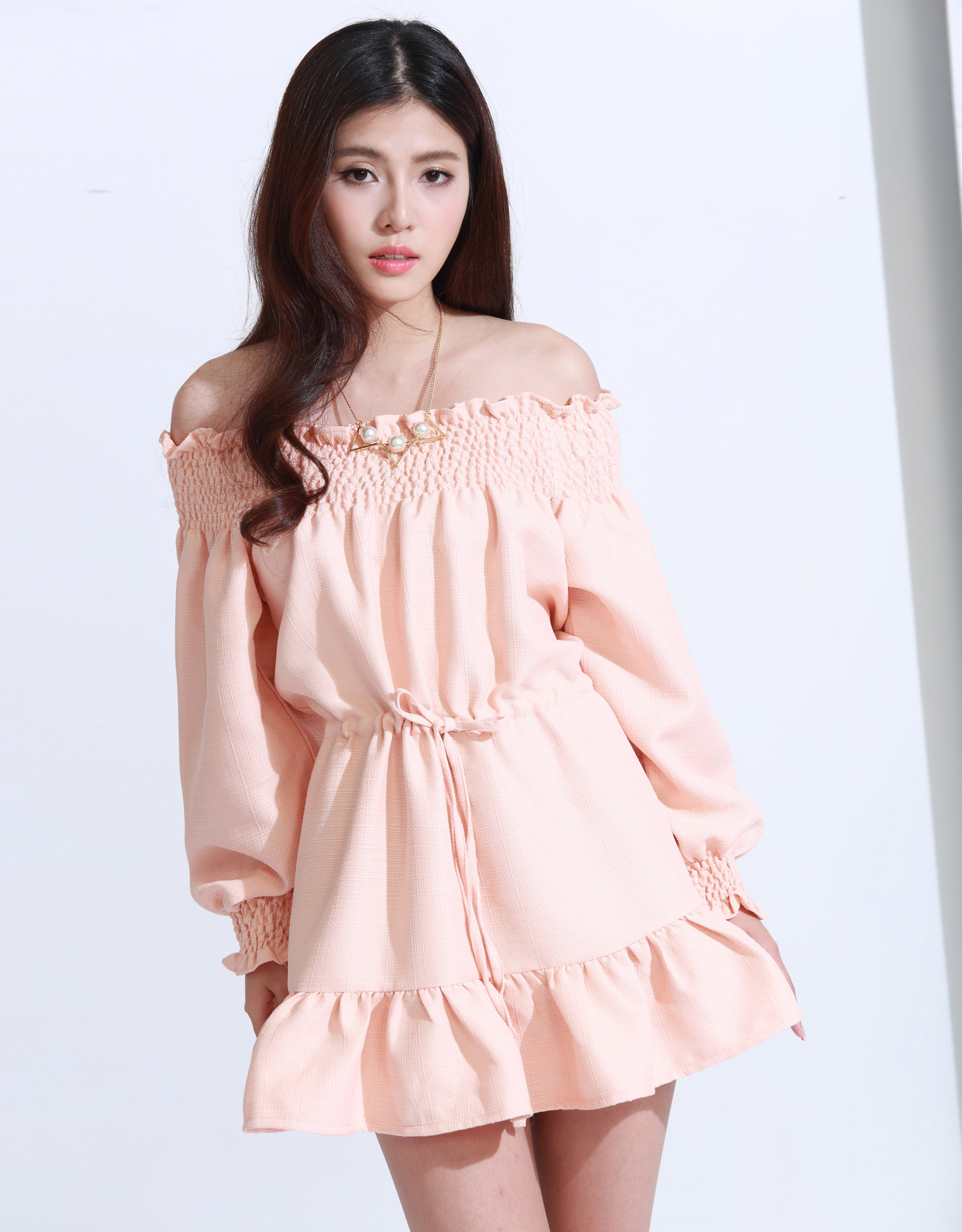 KODZ Womens Pastel Off Shoulder Dress Japanese/Korean Fashion | EBay