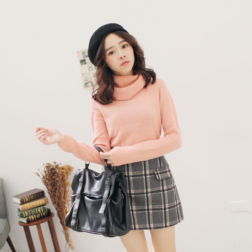 TOKYO FASHION Womens Basic Turtleneck Sweater Japanese/Korean ...