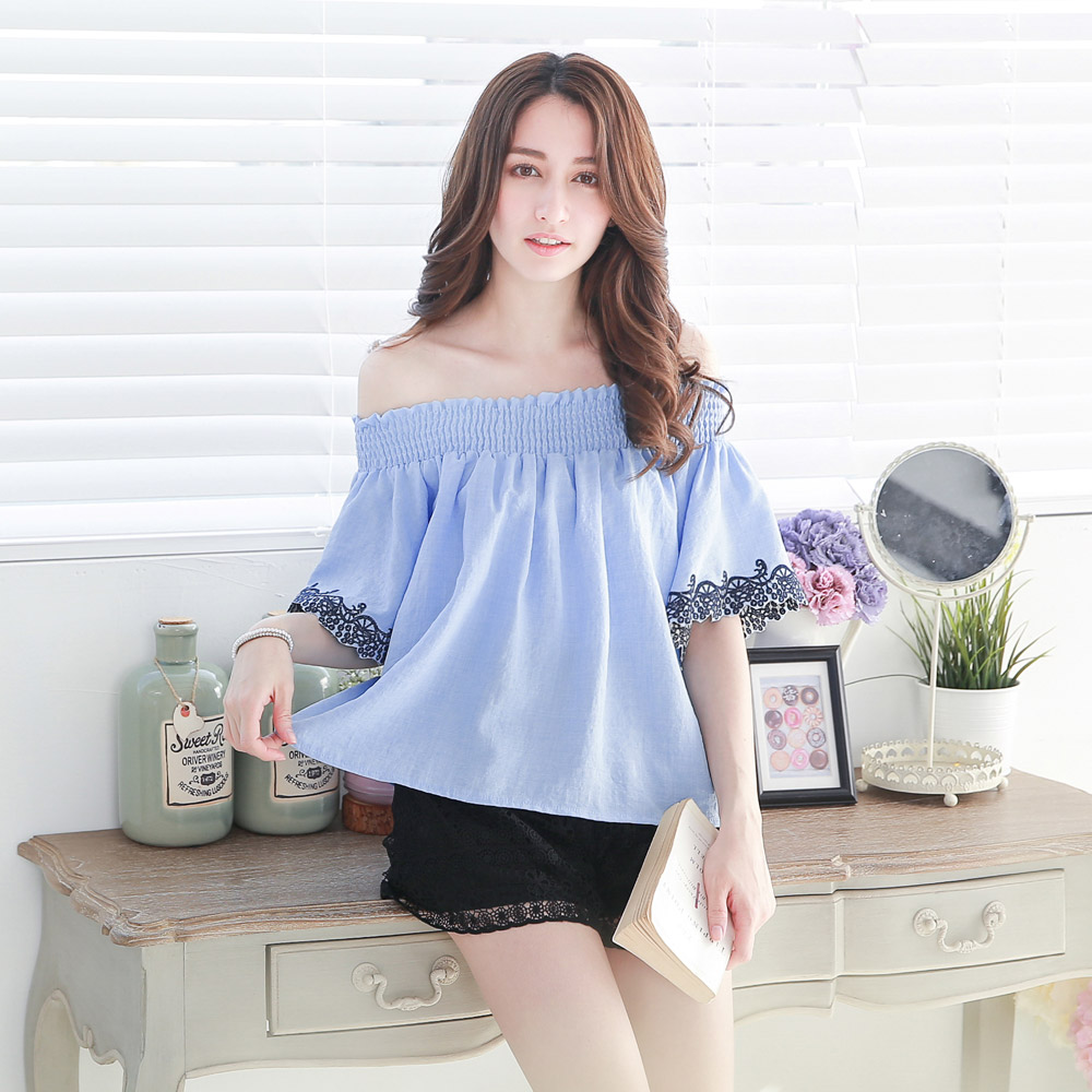 Korean Off Shoulder Tops | Www.pixshark.com - Images Galleries With A Bite!