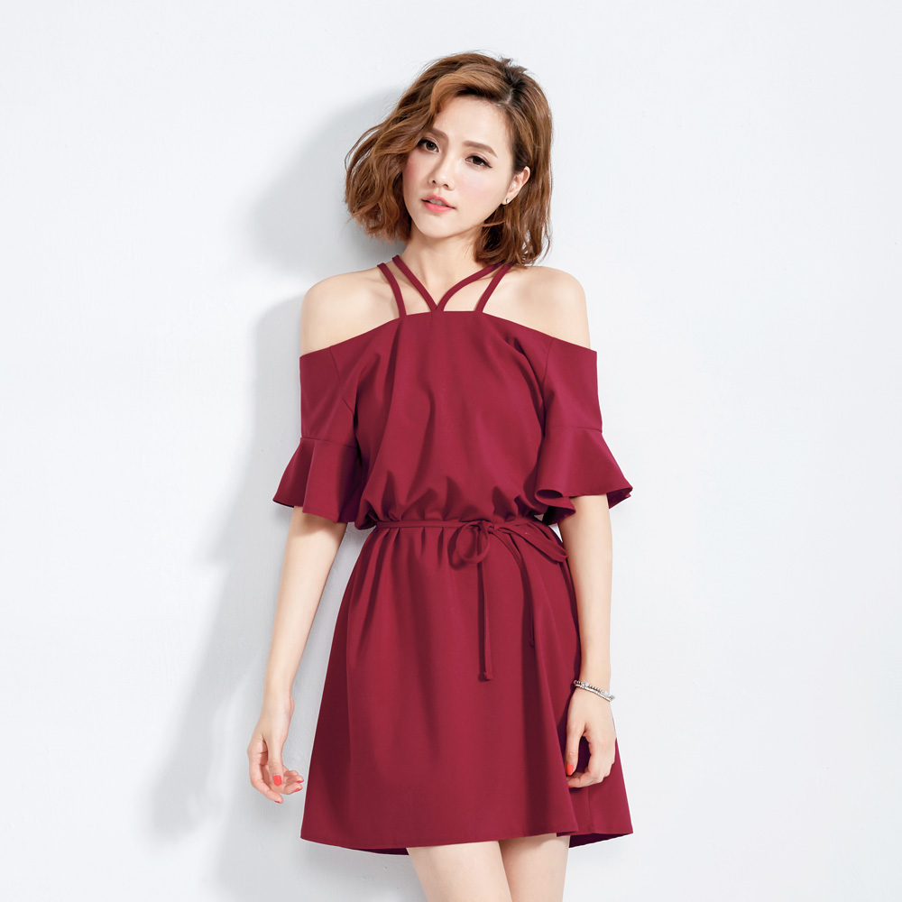 Mayuki Womens Classic Off Shoulder Dress Japanese/Korean Fashion | EBay