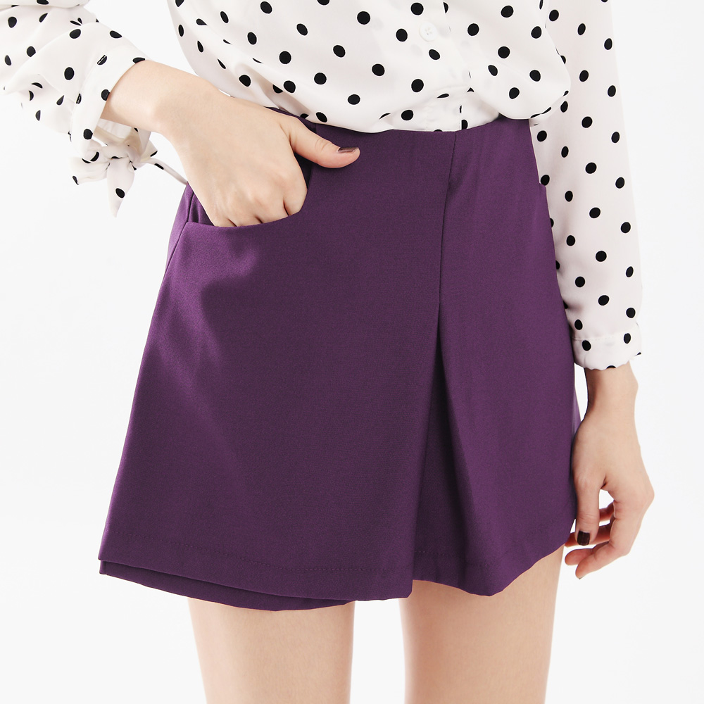 tokyo fashion womens high waisted panel shorts japanese