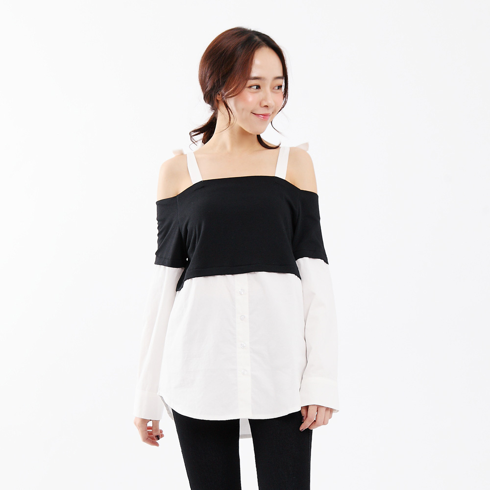 Tokyo Fashion Womens Tie Shoulder Top Japanese Korean Fashion Ebay