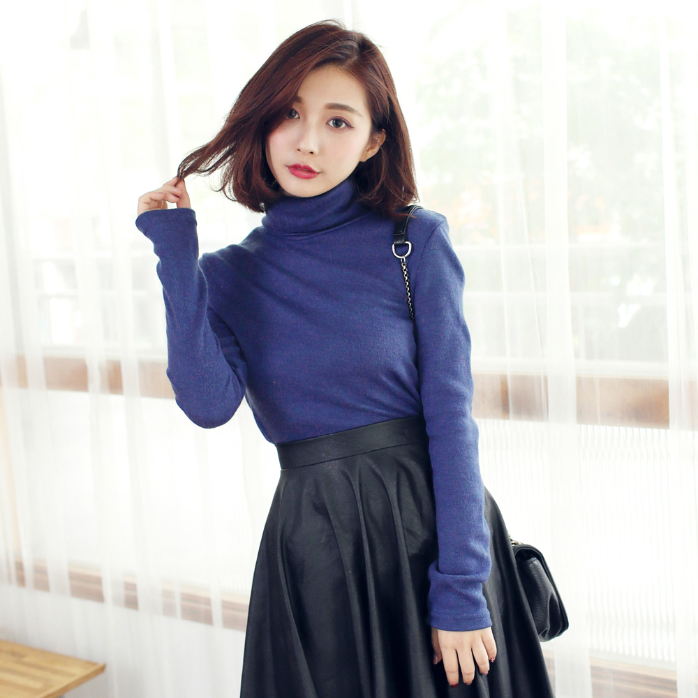 TOKYO FASHION Womens Long Sleeve Turtleneck Top Japanese/Korean Fashion | eBay