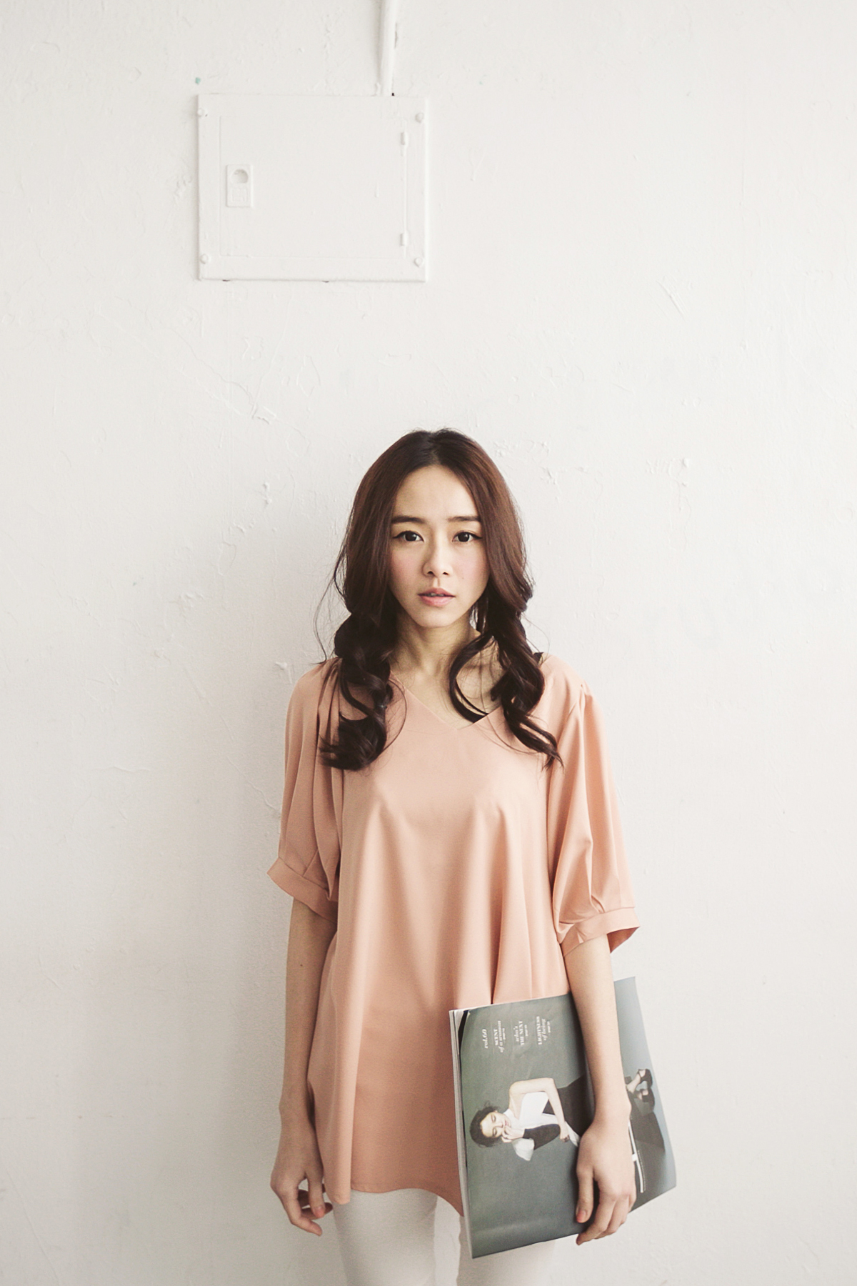 TOKYO FASHION Womens Chiffon Top With Crossover Open Back Japanese Fashion