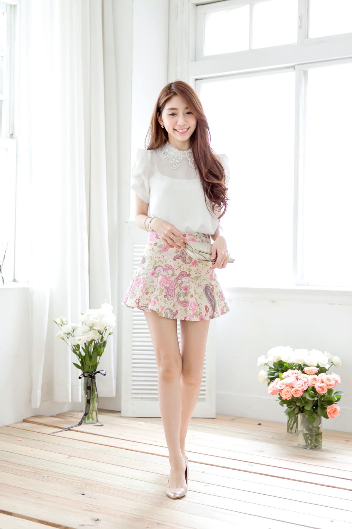 skirt Asian photos mini